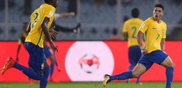 Brasil bate Alemanha e pega a Inglaterra no Mundial Sub-17