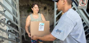 Santo André inicia a entrega de kits do programa Merenda em Casa